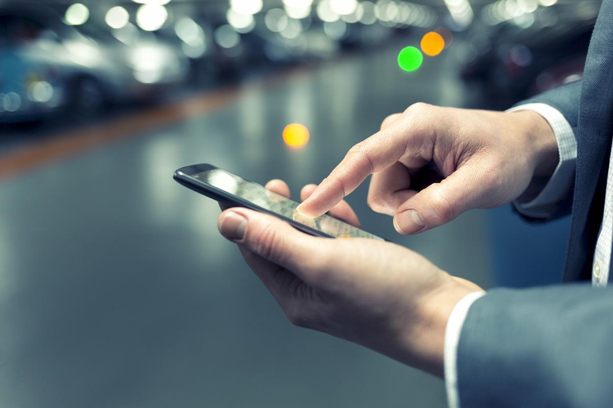 Gestionar IVA aplicación Parkimeter
