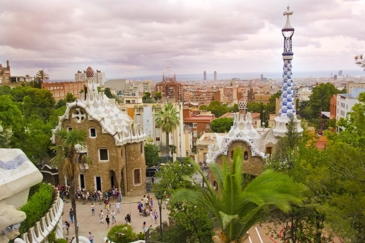 Visiter Barcelone, le parc Güell